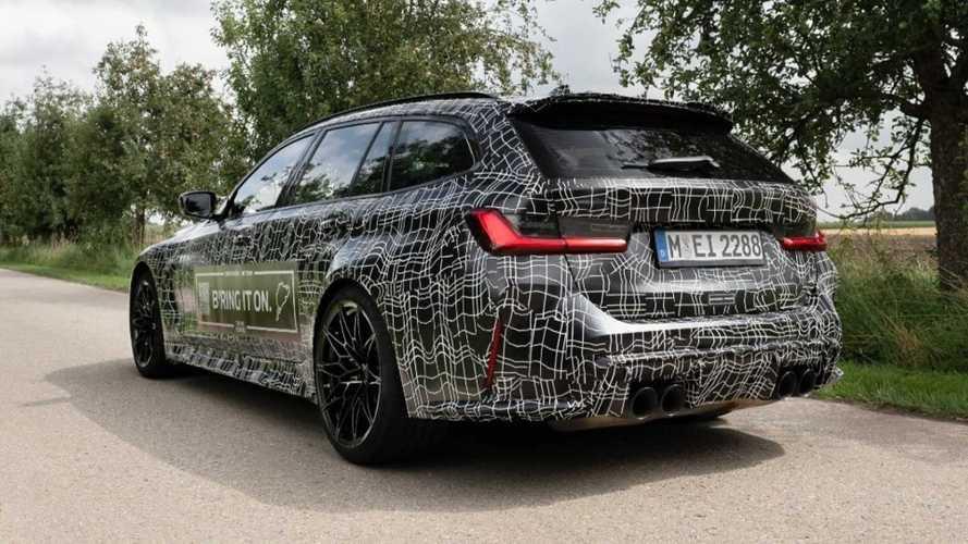 BMW M3 Touring, un nuovo teaser per la station wagon da 510 CV
