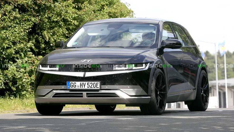 Спортивный Hyundai Ioniq 5 попался в объективы фотошпионов