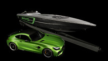 Cigarette Racing Mercedes-AMG GT R boat