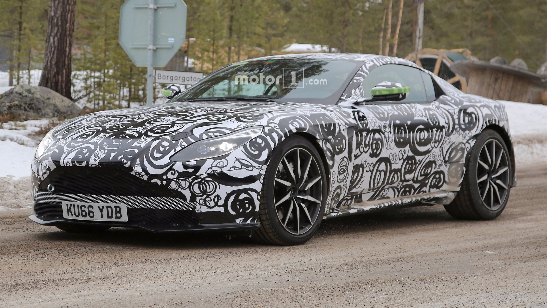 Aston Martin Db11 S Spied For The First Time