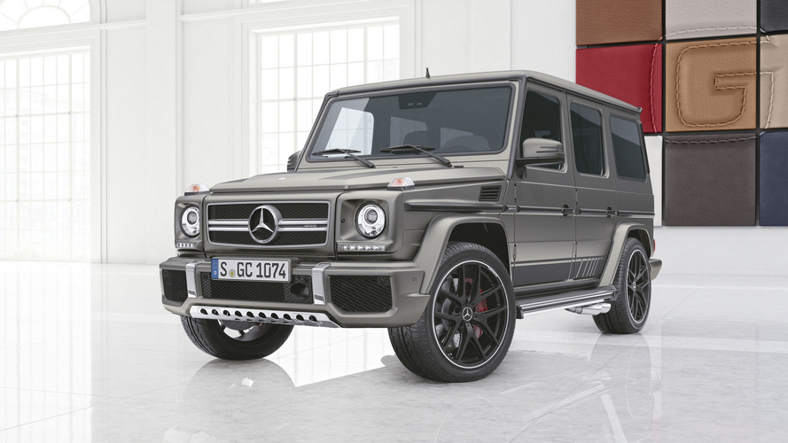 Mercedes-AMG G65 Exclusive Edition Announced For $314,100