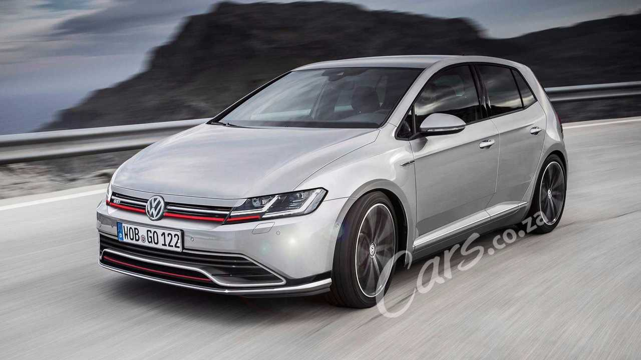 VW Golf 8, according to Cars.co.za
