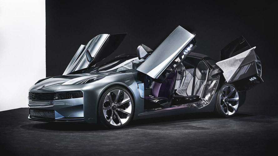 Lynk & Co EV Saloon Concept Exposed In Full