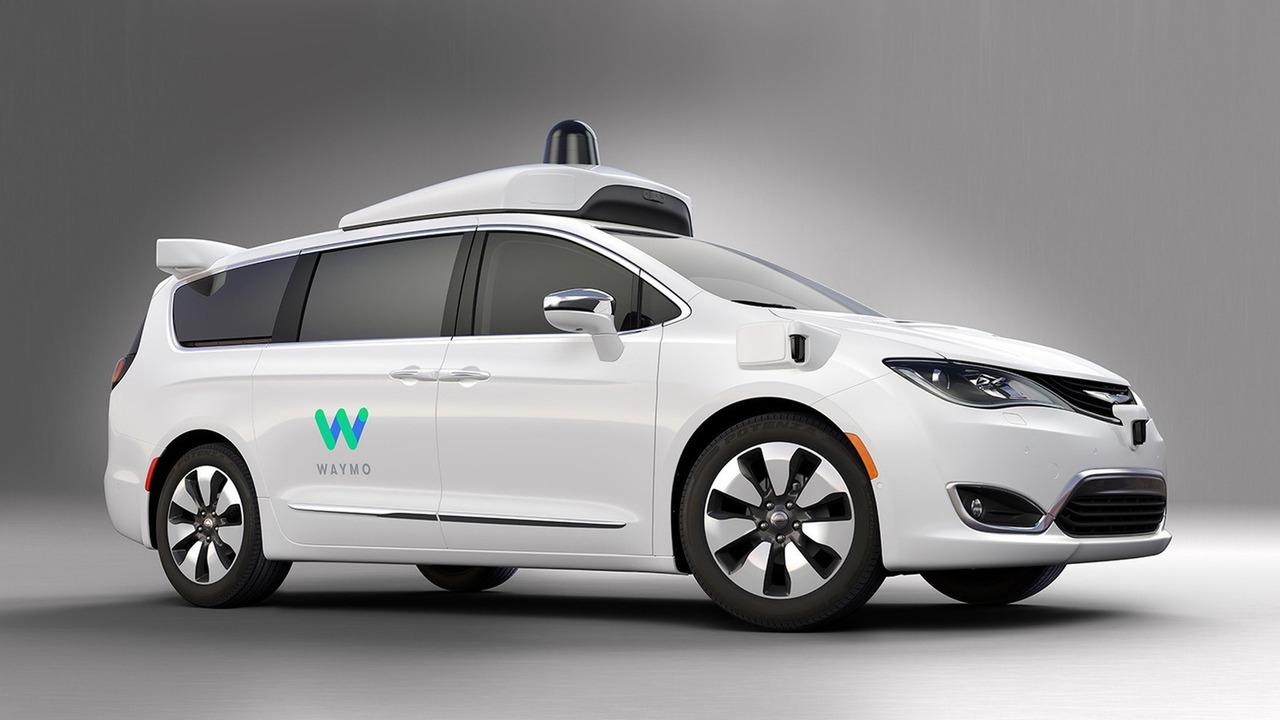 Waymo autonomous Chrysler Pacifica Hybrid