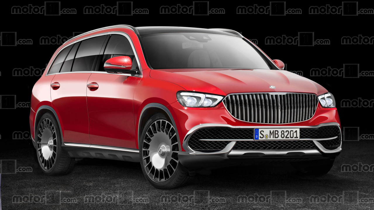 Mercedes-Maybach SUV rendering