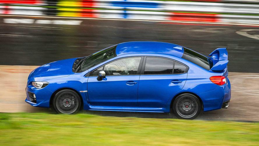 2017 Subaru WRX STI Nürburgring etkinliği