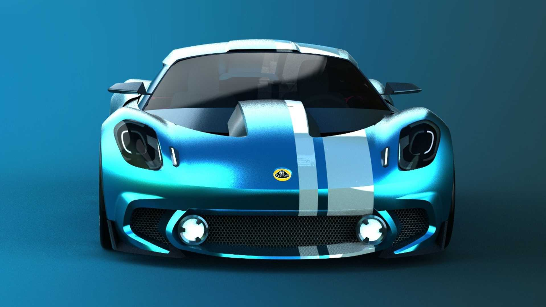 2020 Lotus Elise Render Begs To Be Noticed By New Owner Geely