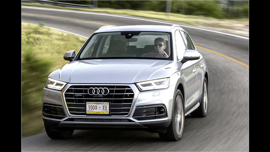Neuer Audi Q5 (2016) im Test