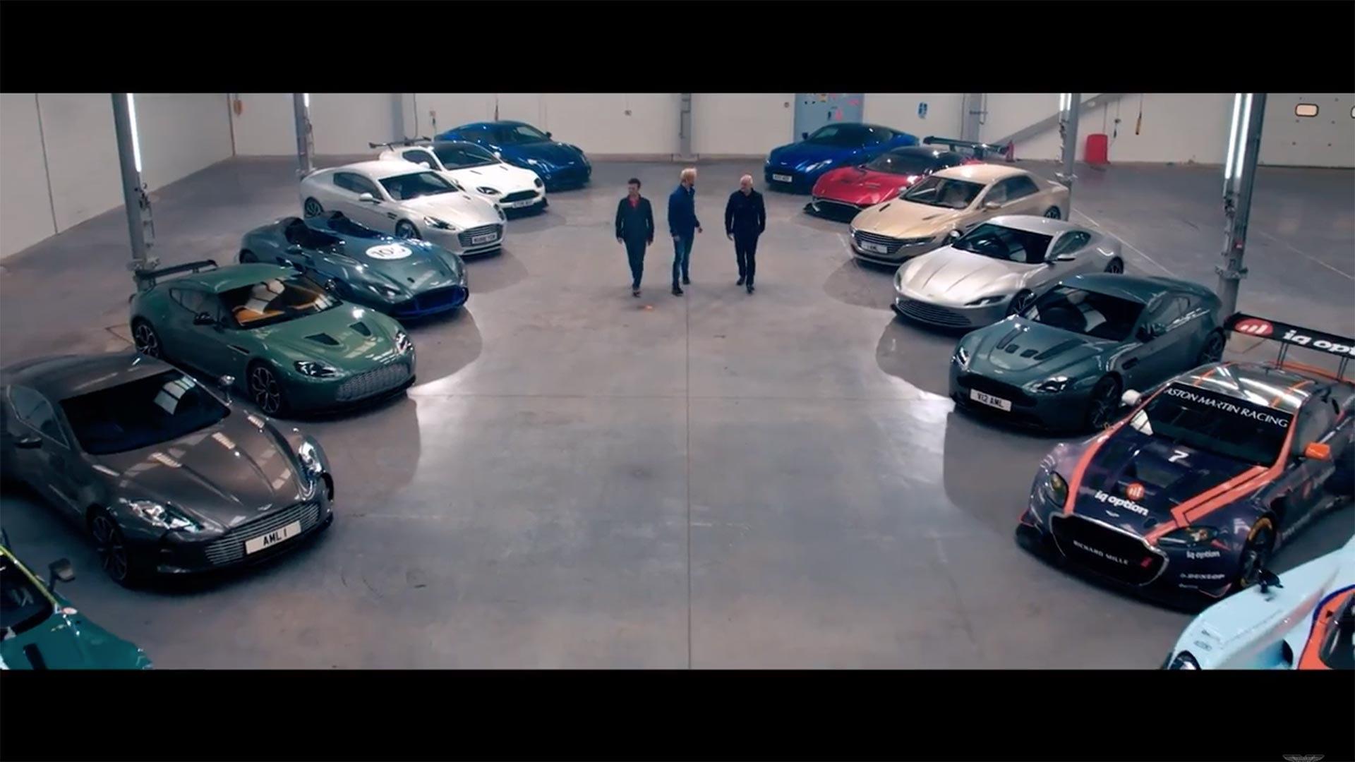 Enjoy 83m In Aston Martins Sliding Around New Welsh Factory