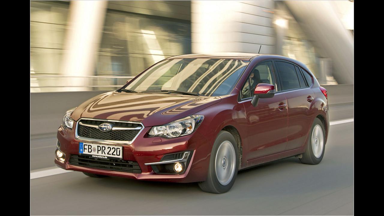 Subaru Impreza 1.6i: 18.600 Euro
