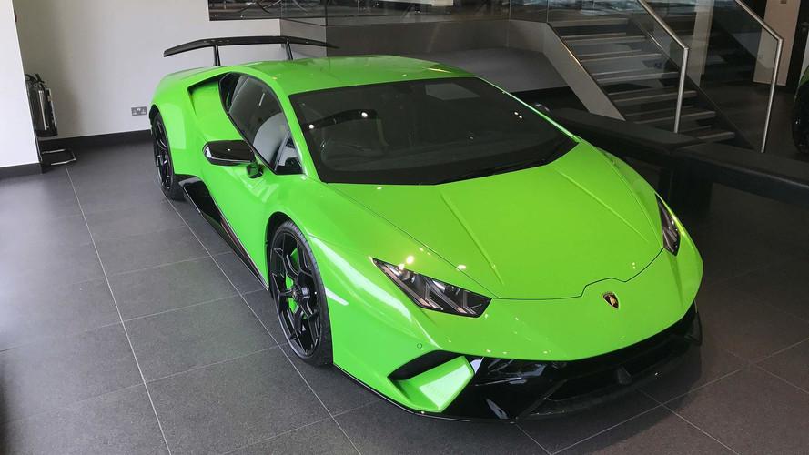 Lamborghini Huracan Performante UK