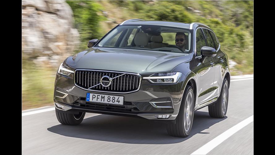Volvo XC60 (2017): GLC-Konkurrent im ersten Test