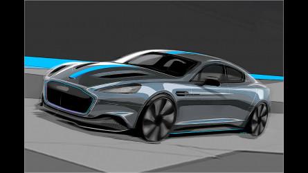 Aston Martin Rapide E 2019 Elektro Sportler Mit 800 Volt Akku