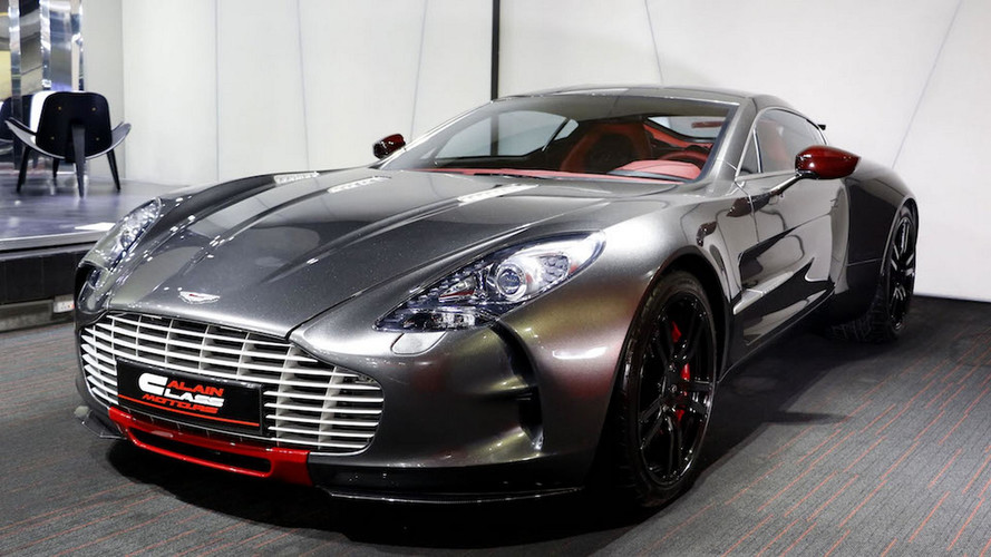 Barely Used Aston Martin One QSeries Needs A New Home - How much is an aston martin