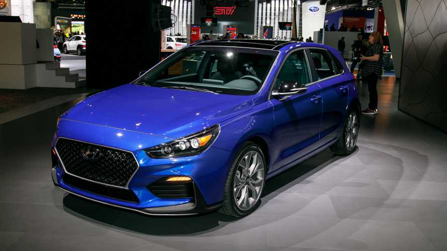 Hyundai Elantra GT N Line Brings Hot Hatch Looks To Detroit