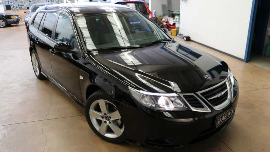This Diesel 9-3 Wagon Is Probably The Last New Saab For Sale