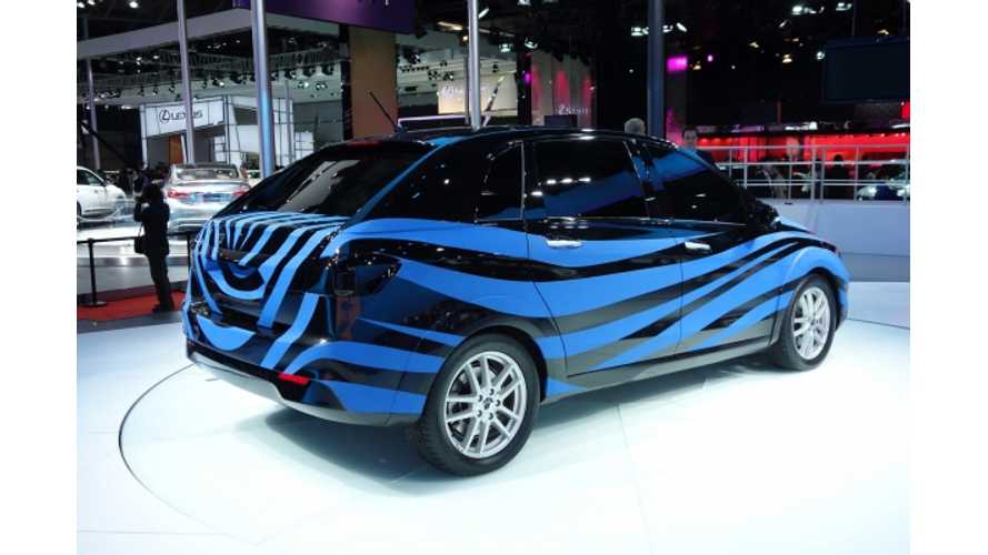 Denza Brand And First EV Unveiled At Shanghai Auto Show, On Sale In 2014
