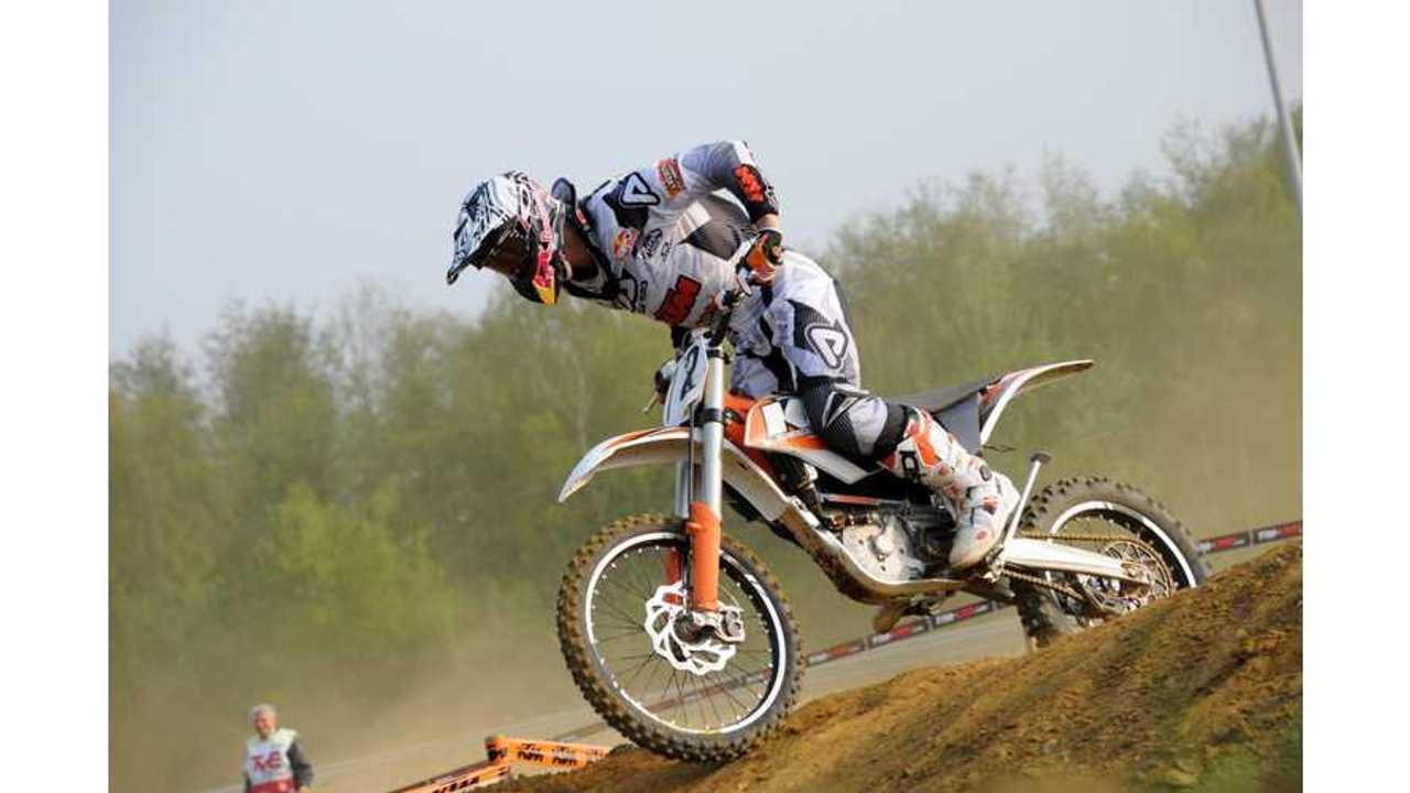 Stefan Everts Won First KTM Electric Offroad Race (w/videos)