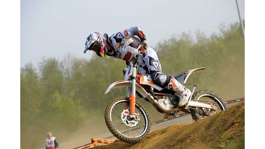 Stefan Everts Won First KTM Electric Offroad Race (w/videos)