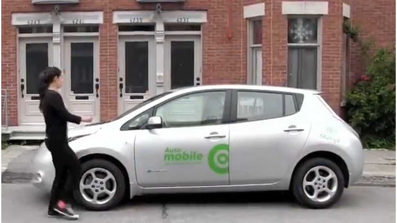 Communauto Launches No-Reservation, Pick-Up and Drop-Off Anywhere Electric Vehicle Sharing Program in Montreal (w/video)