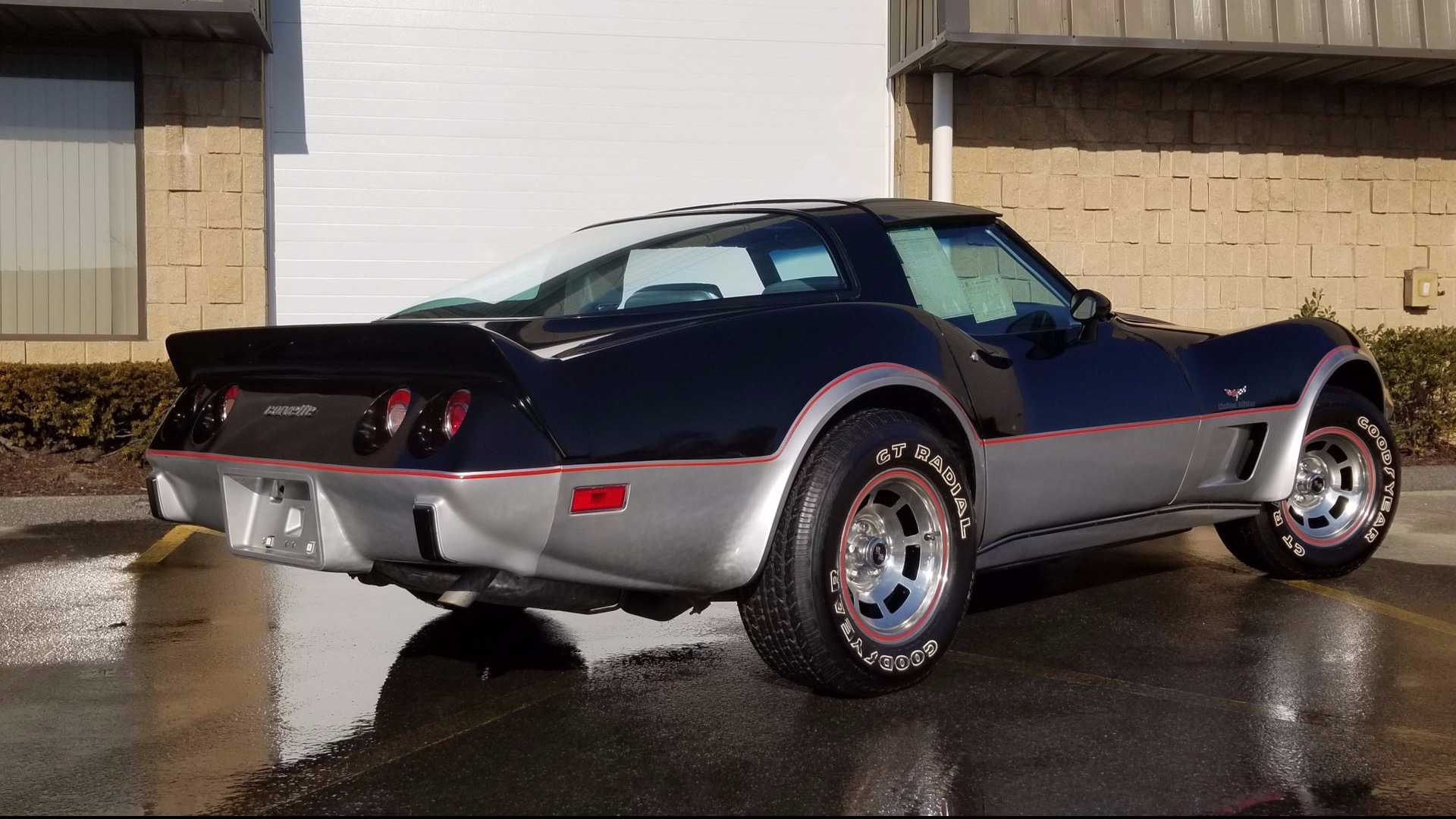 "[""This Highly Collectible 1978 Corvette Pace Car Has Only 99 Miles""]"