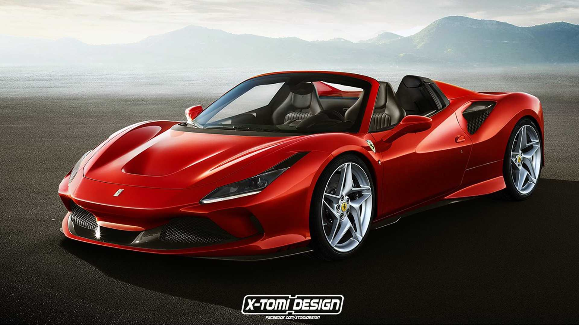 Ferrari F8 Spider Fan Render Could Pass For The Real Thing