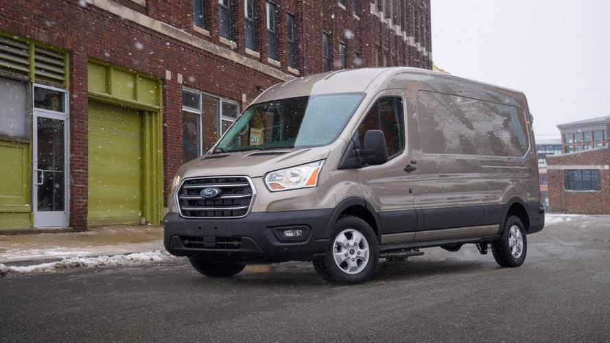 Ford Tweaked The Transit Diesel To Run On Cooking Oil Waste