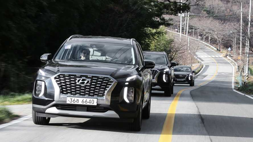 2020 Hyundai Palisade: тест прототипа