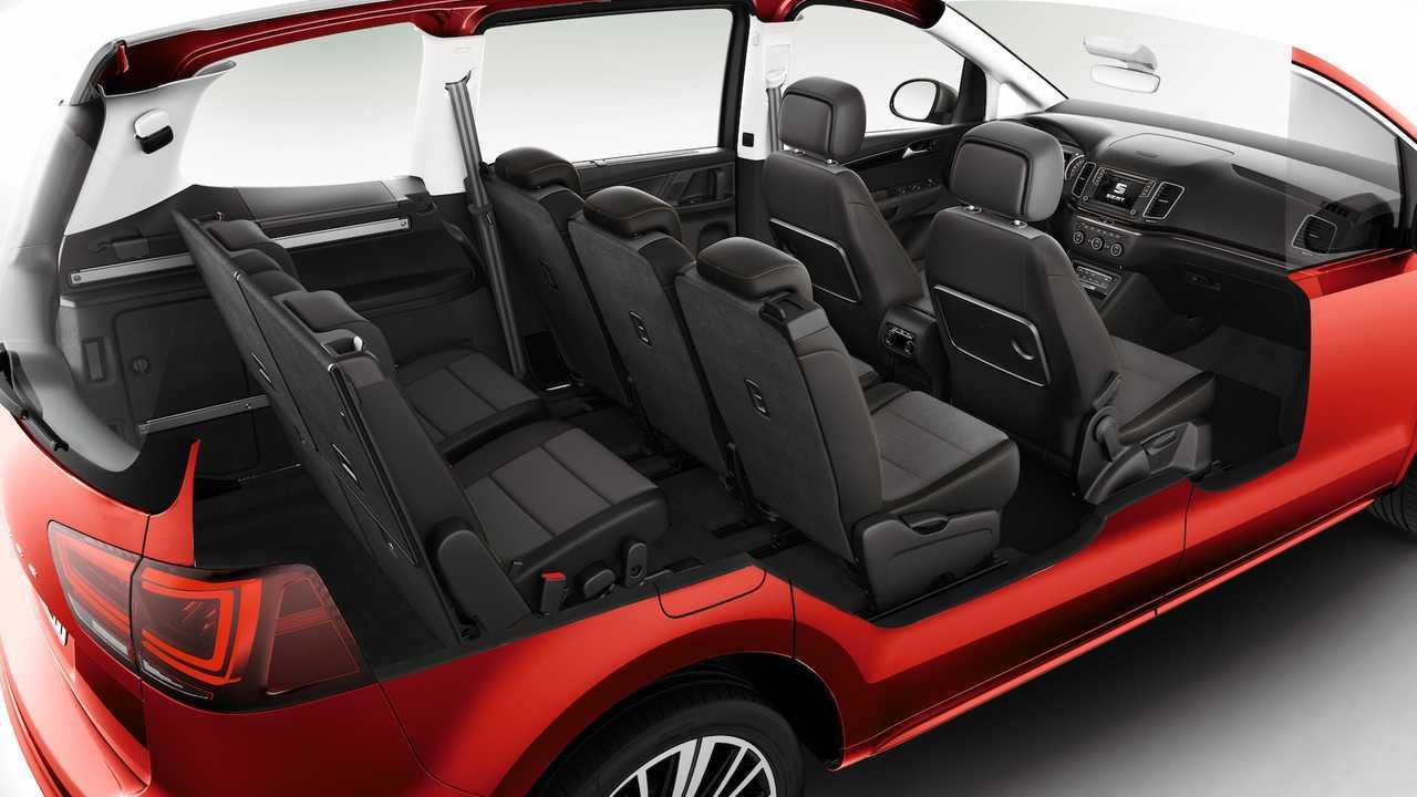 SEAT Alhambra 2019 actualización