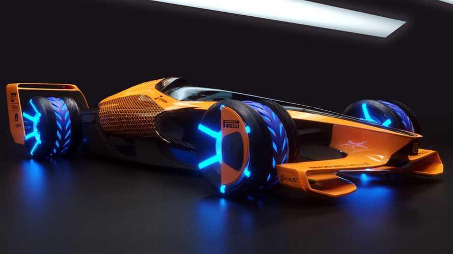 McLaren показал видение гонок Формулы 1 образца 2050 года