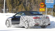 Audi A5 Convertible facelift first spy photo