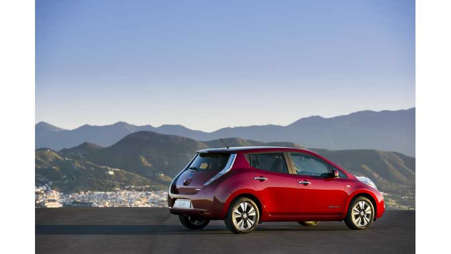 Global Nissan LEAF Sales Hit Record Levels in September; Cumulative Total Passes 83,000