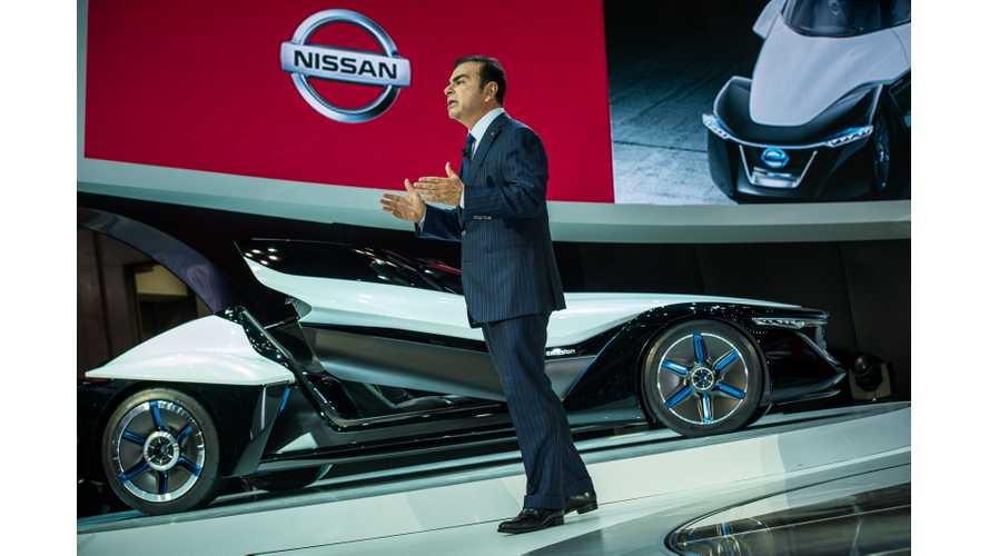 Nissan BladeGlider at 2013 Tokyo Motor Show (Photos and Videos)