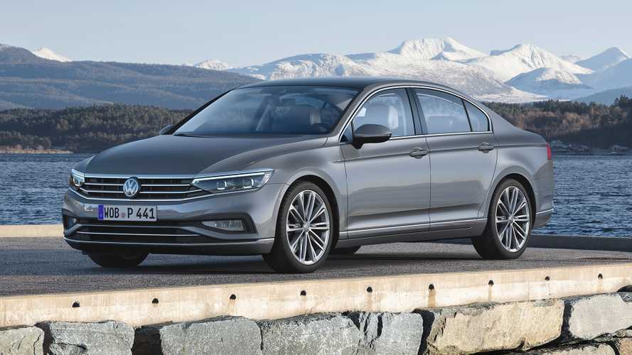 Passat Alltrack Usa >> 2019 VW Passat Facelift Debuts In Europe With Plenty Of Tech