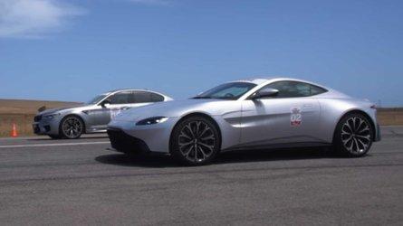 BMW M5 Competition vs. Aston Martin Vantage, ¿cuál es más rápido?