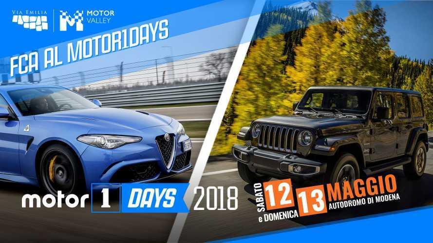 Motor1Days 2018, FCA dalla pista alla strada passando per l'off road