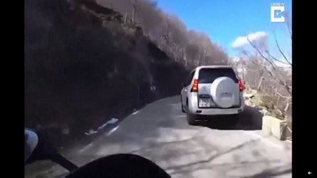 Watch This Rider Escape Death Only To Crash Anyway