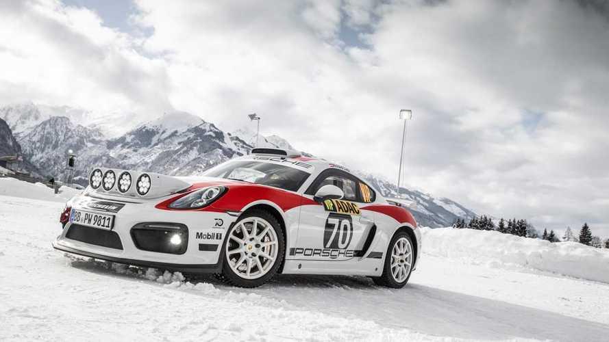 Porsche prépare son retour en rallye avec la version FIA R-GT de la 718 Cayman