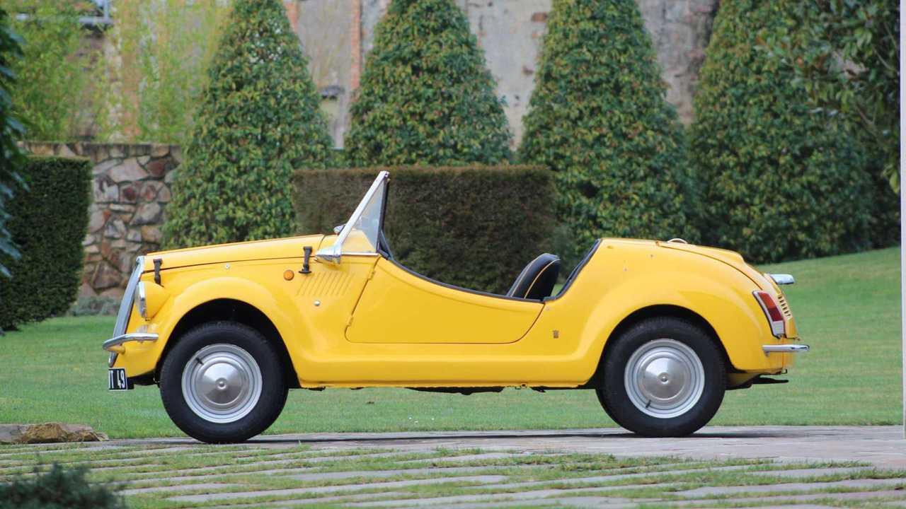Coachbuilt Fiat 500 Artcurial auction