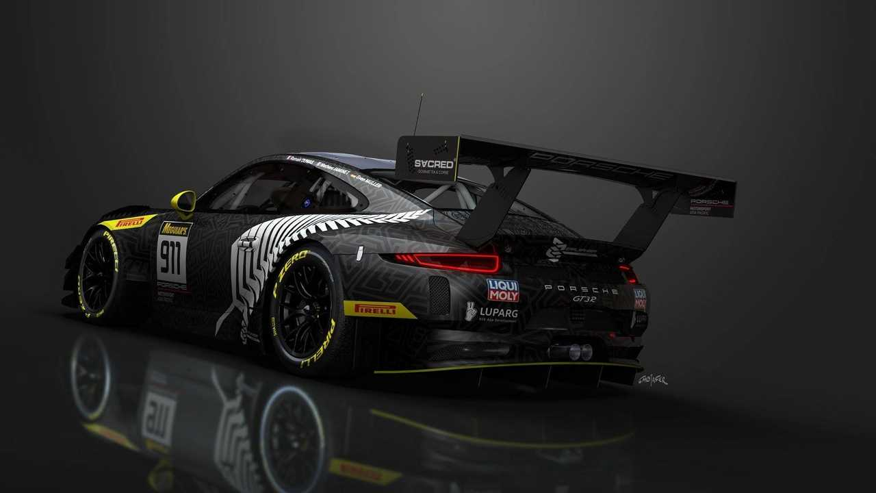 Porsche 911 GT3 R Tout Noir b
