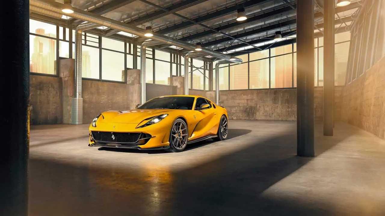 Ferrari 812 Superfast Novitec által