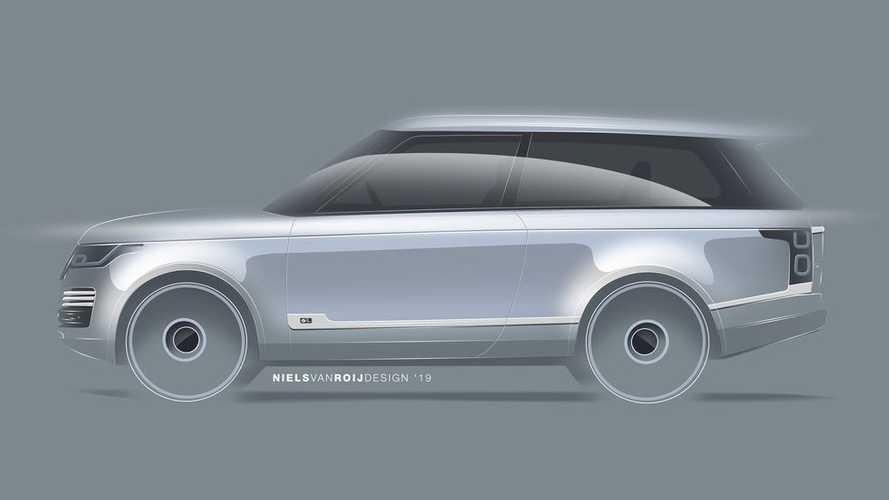 Niels Van Roij Adventum - Le Range Rover Coupé n'est pas mort