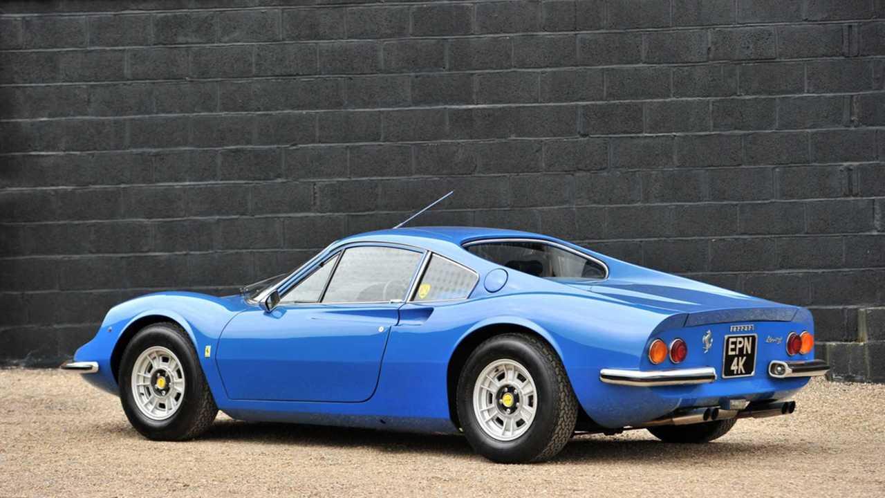1972 Ferrari Dino 246GT Silverstone Auctions