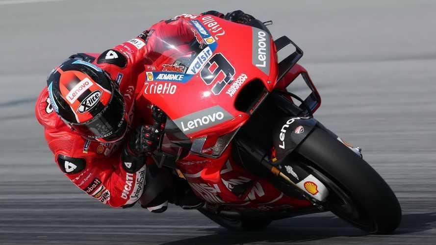Petrucci pulveriza todas las marcas de MotoGP en el test de Sepang