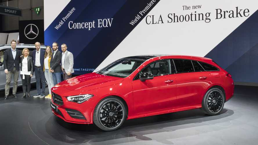 mercedes benz cla shooting brake photos. Black Bedroom Furniture Sets. Home Design Ideas