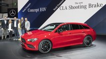 Mercedes CLA Shooting Brake 2019 live auf dem Genfer Auto Salon 2019