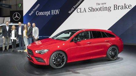 Novo Mercedes CLA Shooting Brake faz combinação de esportividade e espaço