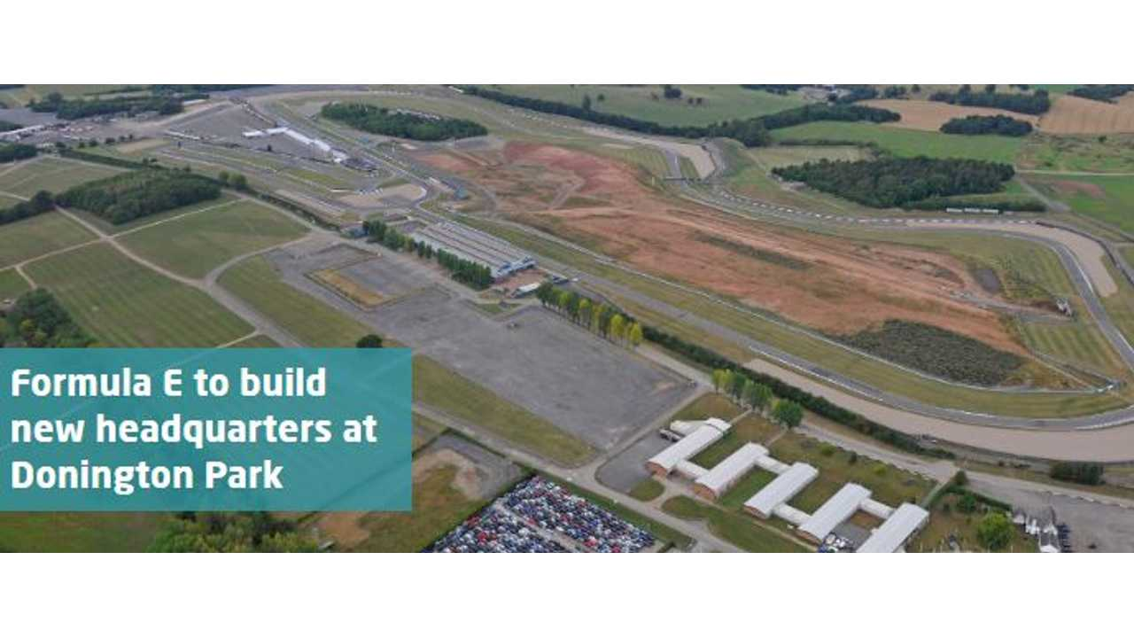 Aerial View of Donington Park
