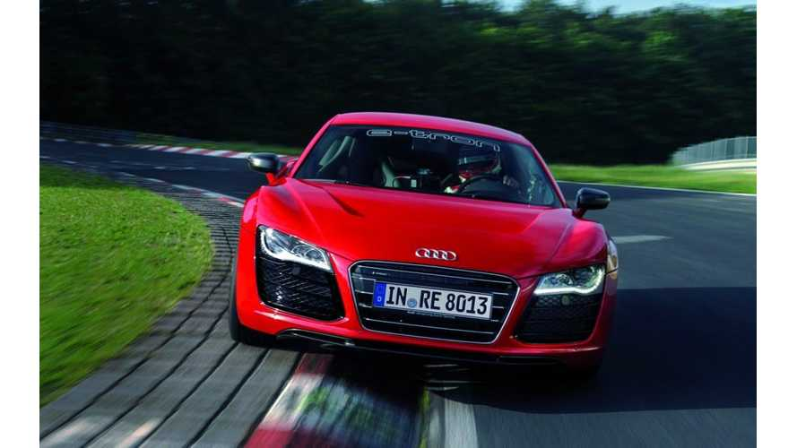 280 Mile Audi R8 E-Tron Becomes Reality - Will Be Built