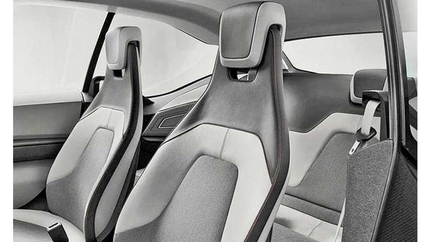 Highlighting the BMW i3's Ultra Thin Seats